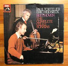 SLS 836 Beethoven Complete Cello Sonatas Tortelier Heidsieck 2xLP Box Set EMI