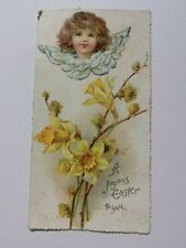 Victorian Easter greetings card, a joyous Easter