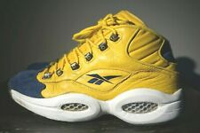 Reebok Question Shoes Allen Iverson I3 Vintage Basketball Yellow Mid Size 11