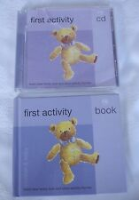 Mothercare First Activity Children's CD & Book Including 31 Tracks