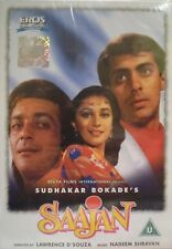 SAAJAN - EROS BOLLYWOOD DVD - Sunjay Dutt, Salman Khan, Madhuri Dixit.