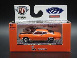 2021 M2 MACHINES 1970 FORD TORINO COBRA 429 DETROIT MUSCLE R58 21-32 1:64 CAR