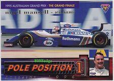 1995 FUTERA FORMULA ONE POLE POSITION #PP10: NIGEL MANSELL #/3000 F1 GRAND PRIX