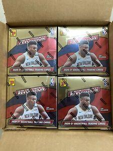 2020-21 Panini Revolution Tmall Asia China Basketball Sealed Box Holo Gold RC
