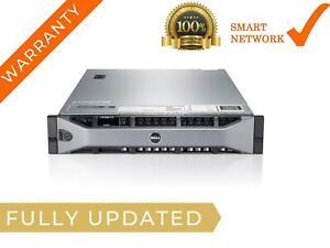 DELL PowerEdge R720 8 x 3.5 Bays 1x E5-2667 v2 128GB Memory 2x 1TB HDD