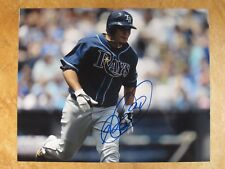 DIONER NAVARRO SIGNED AUTOGRAPHED 8X10 PHOTO 2006-2010 TAMPA BAY RAYS