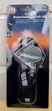 HUNDEHALSBAND mit LED, Gr.M, 40 - 55 cm