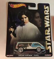 Dream Van XGW Panel Leia *  Hot Wheels * Star Wars Pop Culture  * NE30
