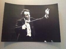 LORIN MAAZEL (Chef d'Orchestre, Musicien)  - PHOTO DE PRESSE ORIGINALE 14x20cm