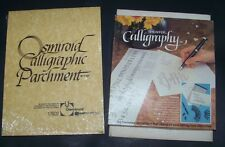 Sheaffer Calligraphy Pen Kit 72260 - Osmiroid Pad -The Calligraphy Book + Paper
