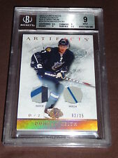 12-13 UD Artifacts Duncan Keith Gold Dual All-Star Patches 2/15 His JSY# 1/1