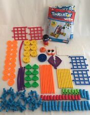 Tinkertoy 56434 Super Tink Building Set Complete Plastic