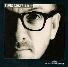 ELVIS COSTELLO<>MUSIC AND VIDEO<>PROMO CD FROM THE SUNDAY TIMES