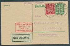 More details for germany 1925 first flight cover nice condition for age! bin price gb£10.00