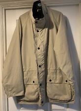 Mens Barbour Beauchamp Travel Jacket Coat Size Large In Excellent Condition