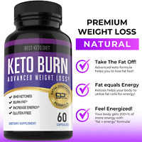 Keto Burn Advanced Weight Loss Fat Burner Diet Pills 360 Ketogenix BHB Ketones