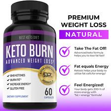 Keto Burn Advanced Weight Loss Fat Burner Diet Pills 360 Ketogenix BHB Ketones