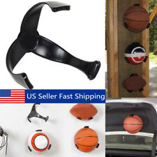 Wall Ball Claw Basketball Football Rack Holder Wall Mount Display Case Organizer