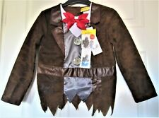 BOY'S MR STINK HALLOWEEN HARPER COLLINS 5 6 YEARS  HEIGHT 116CM. JACKET NEW