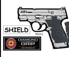 Diamondgripp Smith&Wesson MP Shield 9/40 Silicone-Rubber Grip Tape for SW Shield