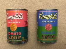 2 ANDY WARHOL CAMPBELL SOUP CAN TARGET RARE UNOPENED