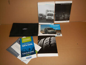 2018 Ford Transit 150 250 350 Owner's Manual with Booklet's and Case