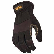 DeWalt Leather Work Gloves, Medium