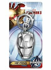Marvel Avengers  Iron Man 3 Head Pewter Key Ring Keychain