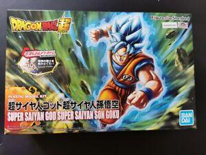 Bandai - Figure-rise Standard Dragon Ball - Super Saiyan God Blue Son Goku - NIB