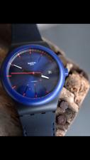 Swatch Sistem 51 - SUTB403 Sistem Notte Blue Dial - Unisex Watch - Full Kit