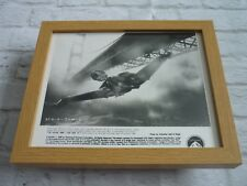 Framed Lobby card Front of house Press Promo photo Star trek IV klingon ship