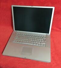 Funktioniert! Apple PowerBook G4 (A1095) - 15 Zoll, 1.33 Ghz, 1.25 GB Ram, 60 GB
