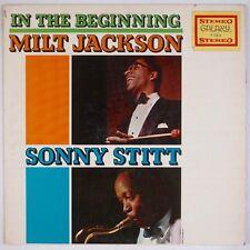 MILT JACKSON, SONNY STITT: In the Beginning GALAXY DG Jazz Fantasy LP HEAR