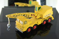 1969 Matchbox/Lesney Laing Mobile Crane King Size # K-12 Yellow