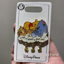 Disney Pin winnie the pooh tigger eeyore Shanghai Disneyland park exclusive