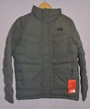 The North Face Talum Field Jacket 550 Goose Down Dark Grey Heather Men's M New