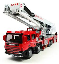 1/50 Aerial Lift Truck Fire Vehicle Alloy Metal Diecast Model Car By KDW 1:50