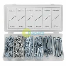 Split Pins / Cotter Pins 555 assorted castellated Nut Pins in a resealable case