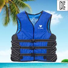 Dolphin Blue Life Jacket Vest For Adult Swimming Survival Sailing Floatation v_e