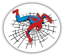 Spiderman Cartoon Car Bumper Sticker Decal 5'' x 4''
