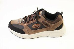 Skechers Oak Canyon Sneaker   schwarz/braun   Memory Foam   Größe 42 43 45