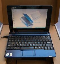 Acer Aspire One Netbook Intel Atom N270 1.6GHz 1GB RAM 160GB HD