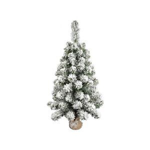 Albero di Natale modello Tiglio Piccolo del Gargano Innevato cm 90 in Pvc