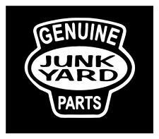 GENUINE JUNK YARD PARTS 5X6 RAT ROD REDNECK FORD CHEVY DODGE DECAL STICKER