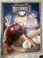 Washington Nationals The Northwest Company 59X44 BASEBALL 100% HIGH BULK ACRYLIC