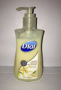 Dial  Vanilla Creme & Extract  Hand Soap With Moisturizer 7.5 fl Oz.