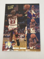1993-94 Fleer Ultra #2 MICHAEL JORDAN Basketball Card Chicago Bulls