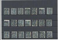 Memel, Klaipeda, Litauen 1922, Michelnr: 61 o, PLATTENFEHLER o, Michelwert € 60