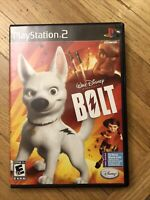 Disneys Bolt COMPLETE GAME for your Playstation 2 PS2 system VG KIDS