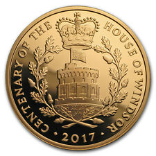 2017 Great Britain £5 Proof Gold House of Windsor